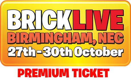 BRICK LIVE- Built for Lego fans! 27th Oct - 30th Nov 2016 - The NEC, Birmingham
